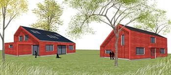 Econexis huis toont de toekomst door een for Bouwkosten huis